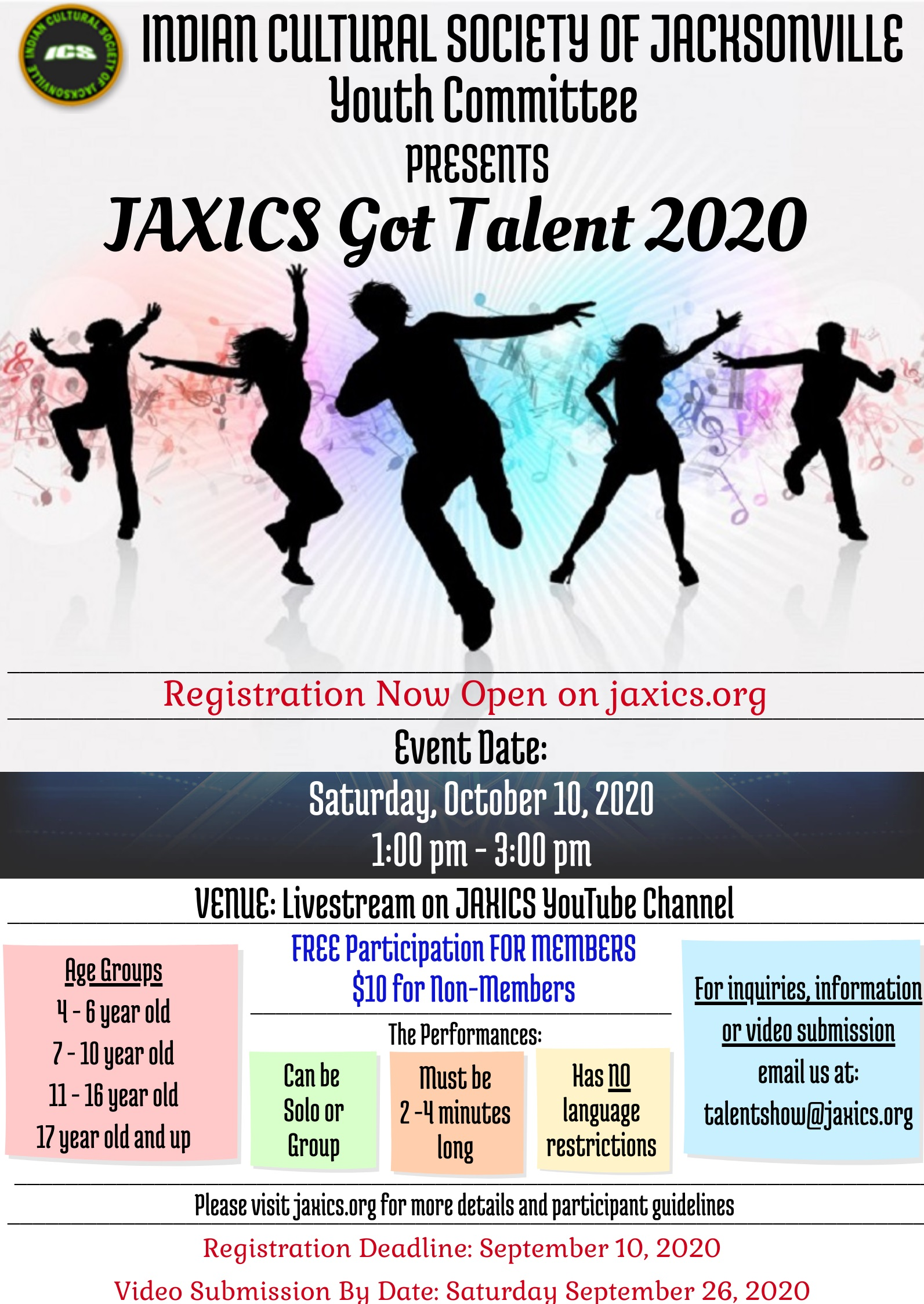 JAXICS Got Talent 2020