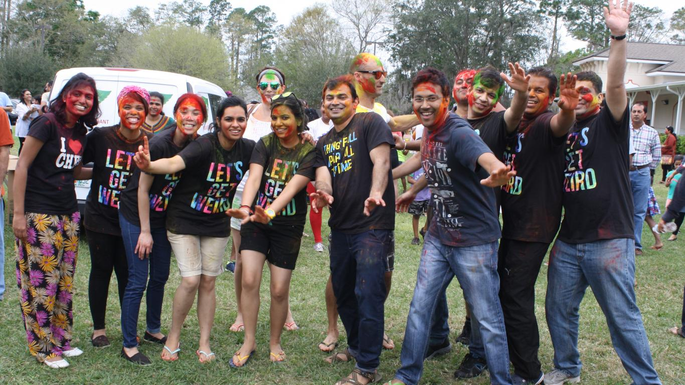 Holi - group activities
